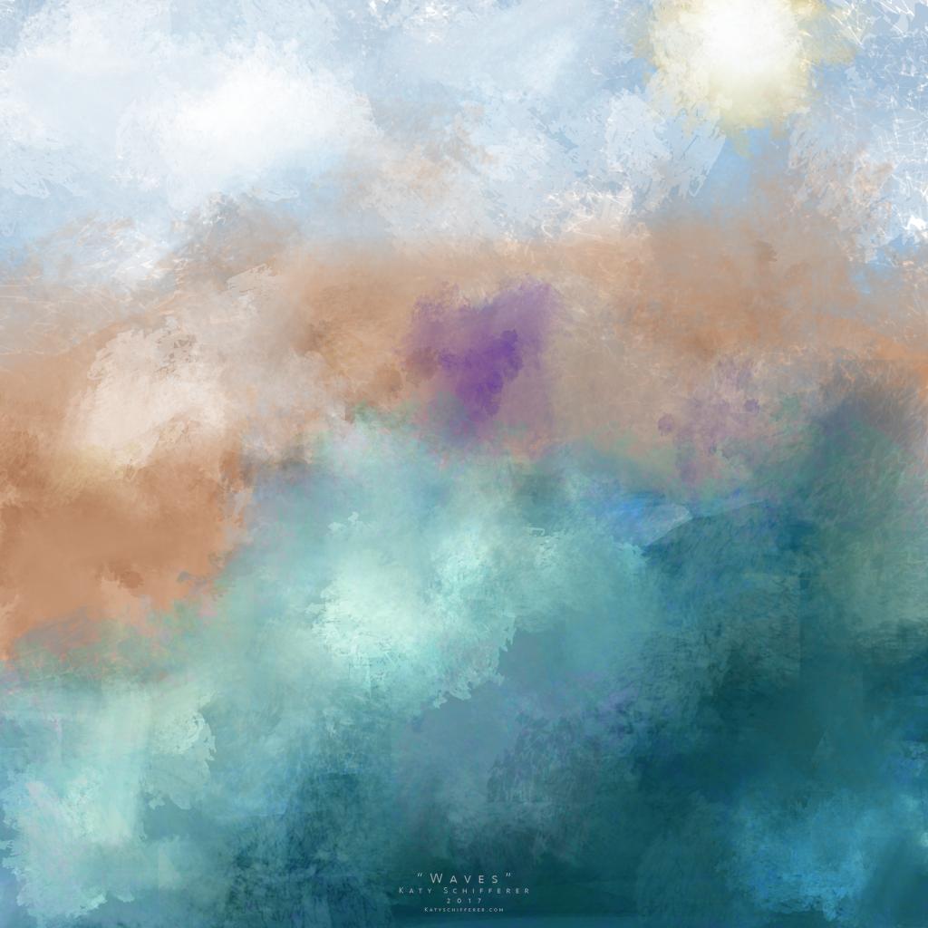 """""""Waves"""" by Katy Schifferer"""