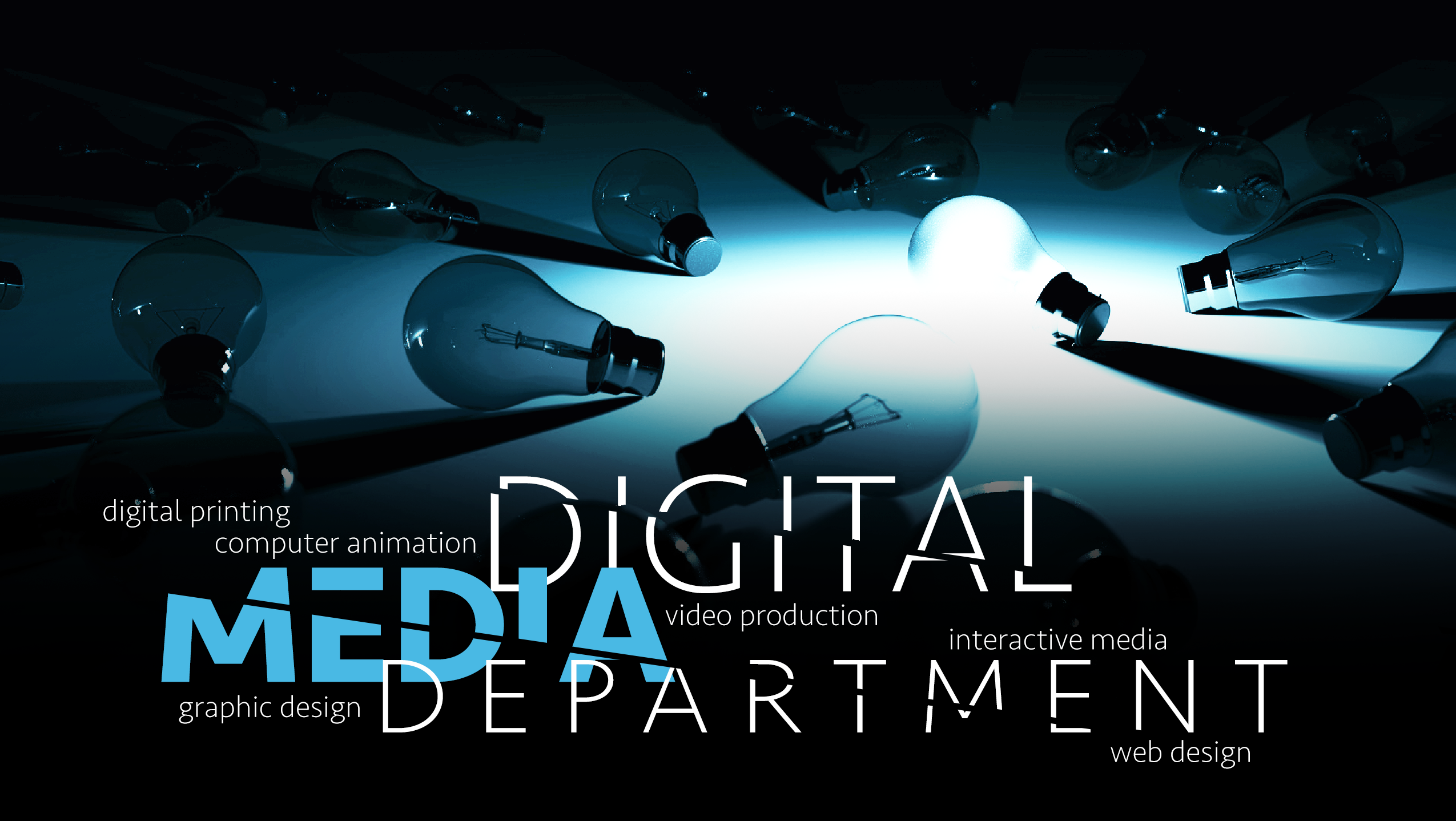 Digital Media Department design