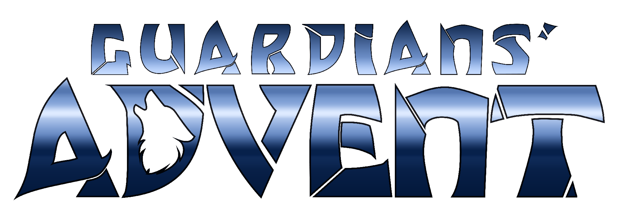 Guardians' Advent Logo - Blue Gradient Version #guardiansadvent