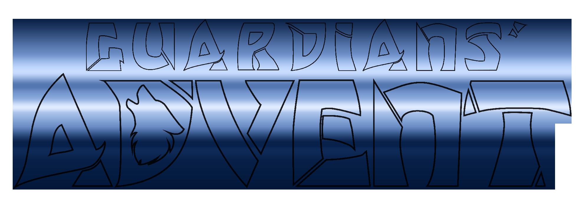 Guardians' Advent Logo - Blue Gradient Version